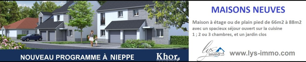 Découvrez le nouveau programme Neuf à Nieppe