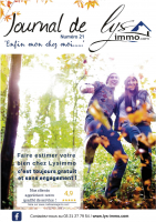 numéro 21 du Journal de Lysimmo