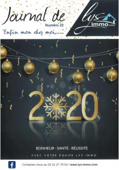 22 ème numéro du journal de Lysimmo